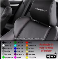 Peugeot ( New ) Logo Car seat Decals